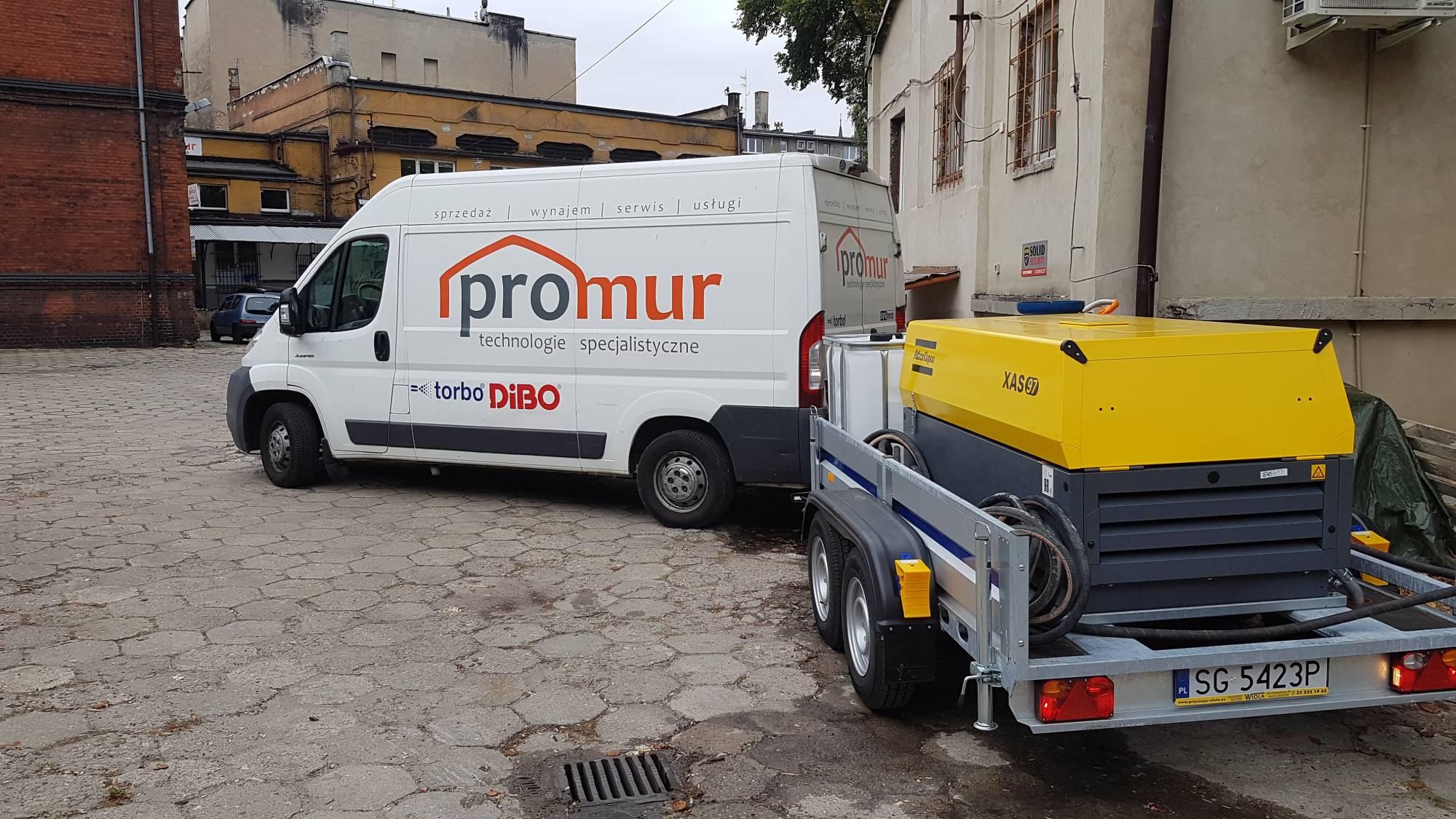Promur MPP – Mobilna Platforma Piaskarska