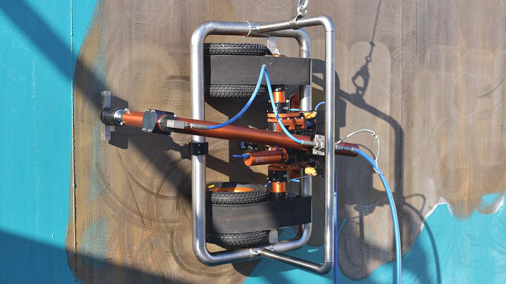 Metoda robotyzacji procesów piaskowania