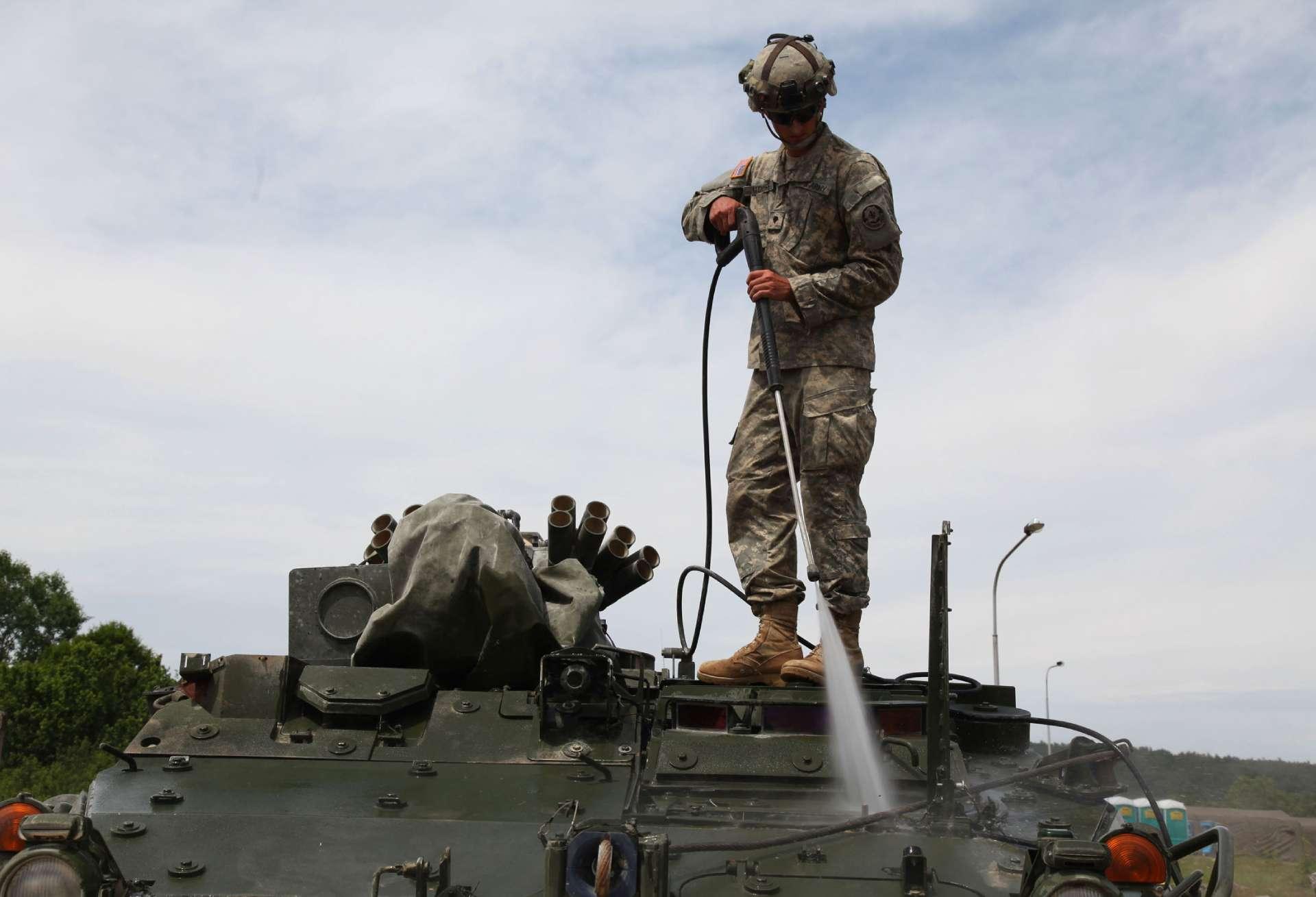 Myjka ciśnieniowa dla wojska? Oferta dla Sił Zbrojnych RP