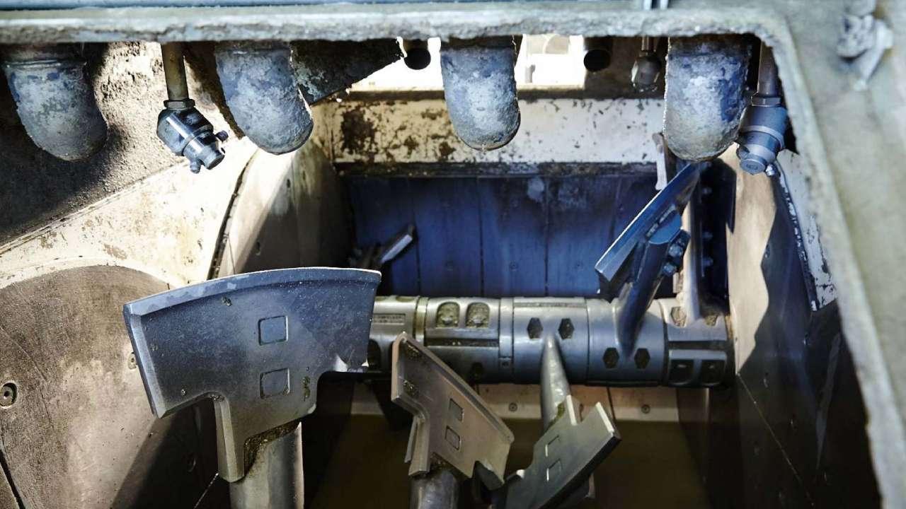 Automatyczne systemy czyszczenia mieszalników betonu