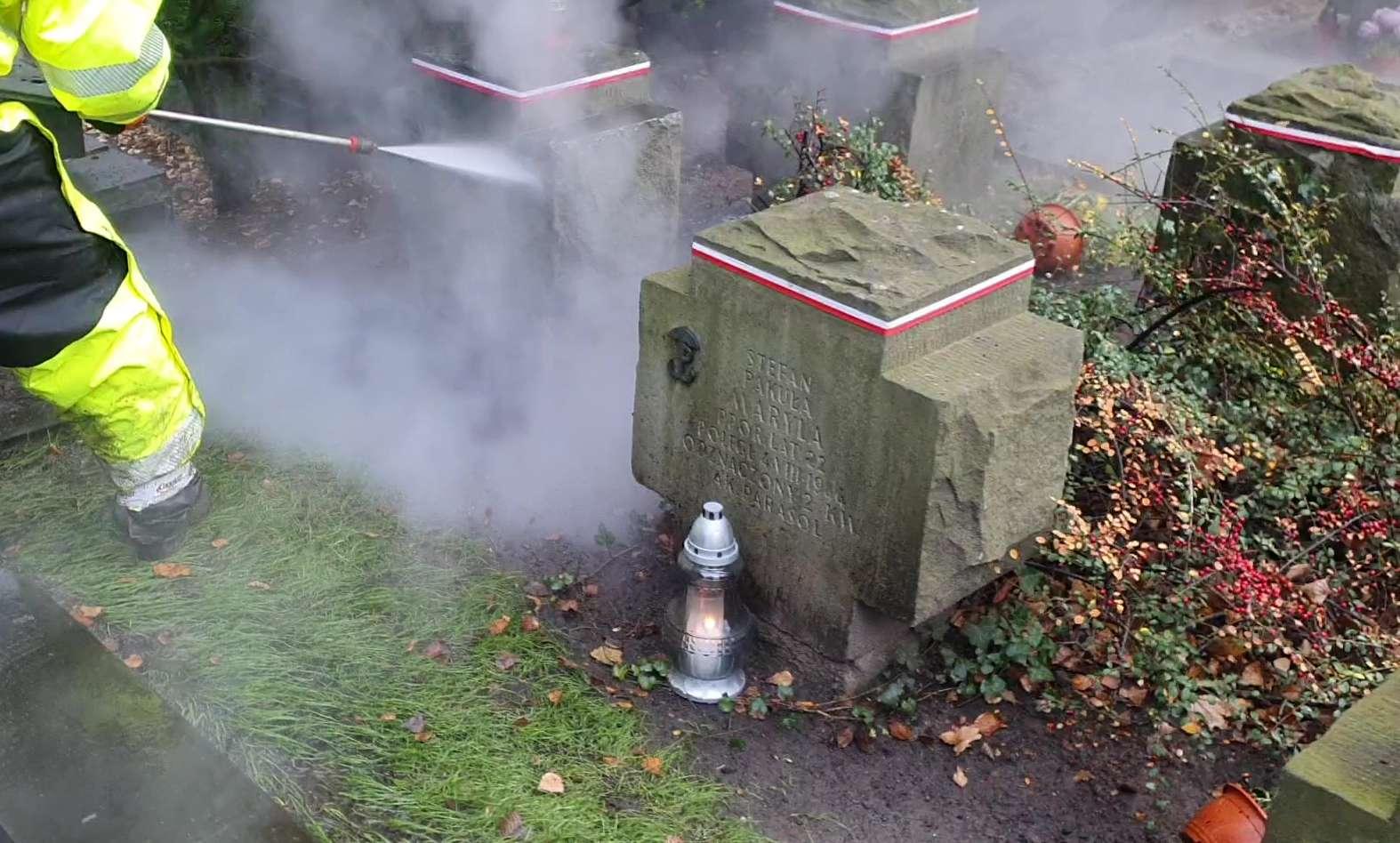 Renowacja, mycie iczyszczenie pomników historycznych