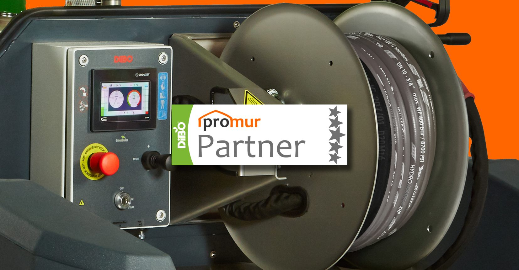 DiBO JMB • Sprzęt dla Promur PARTNER