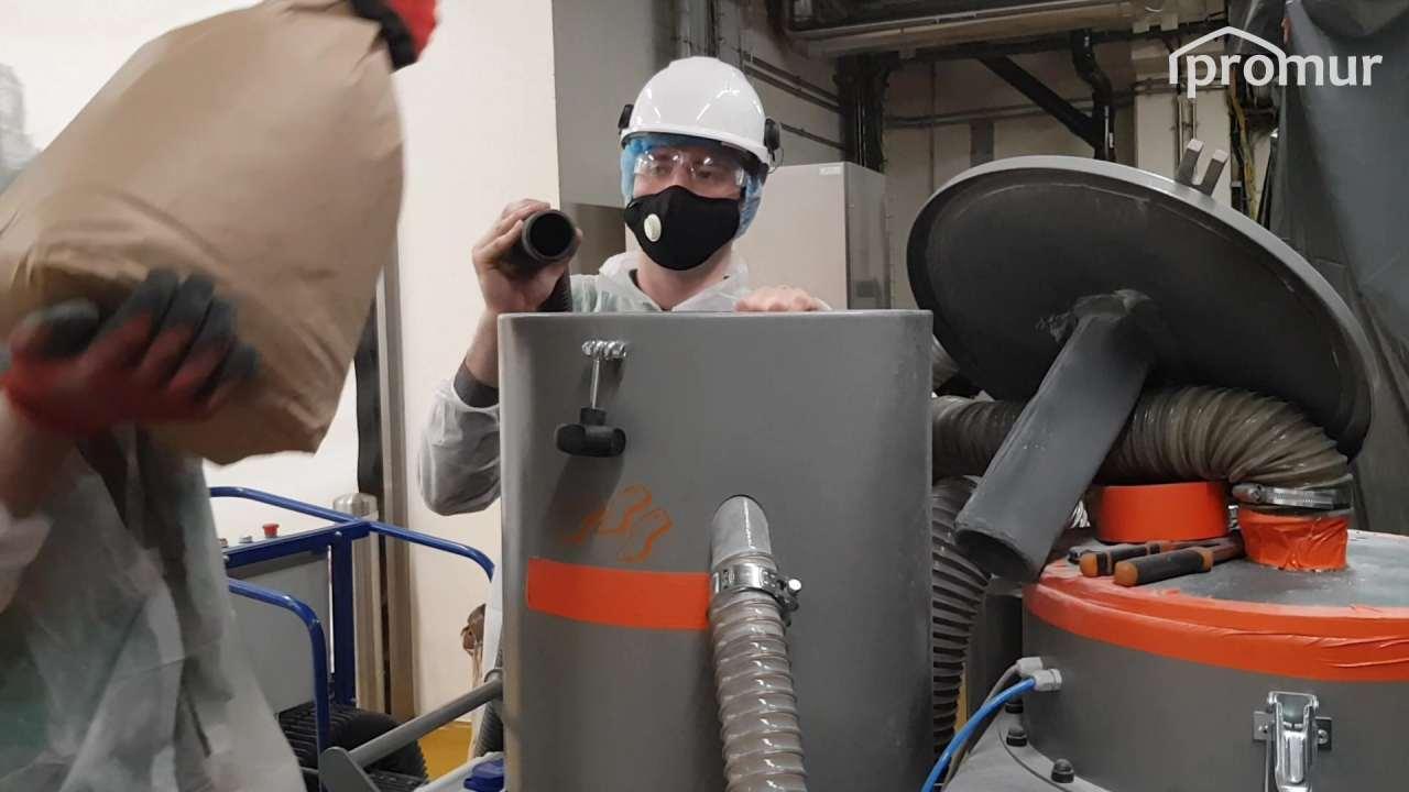 Asystowanie zdodatkowym odciągiem Tornado ACS byzniwelować dodatkowe pylenie iosad ześcierniwa