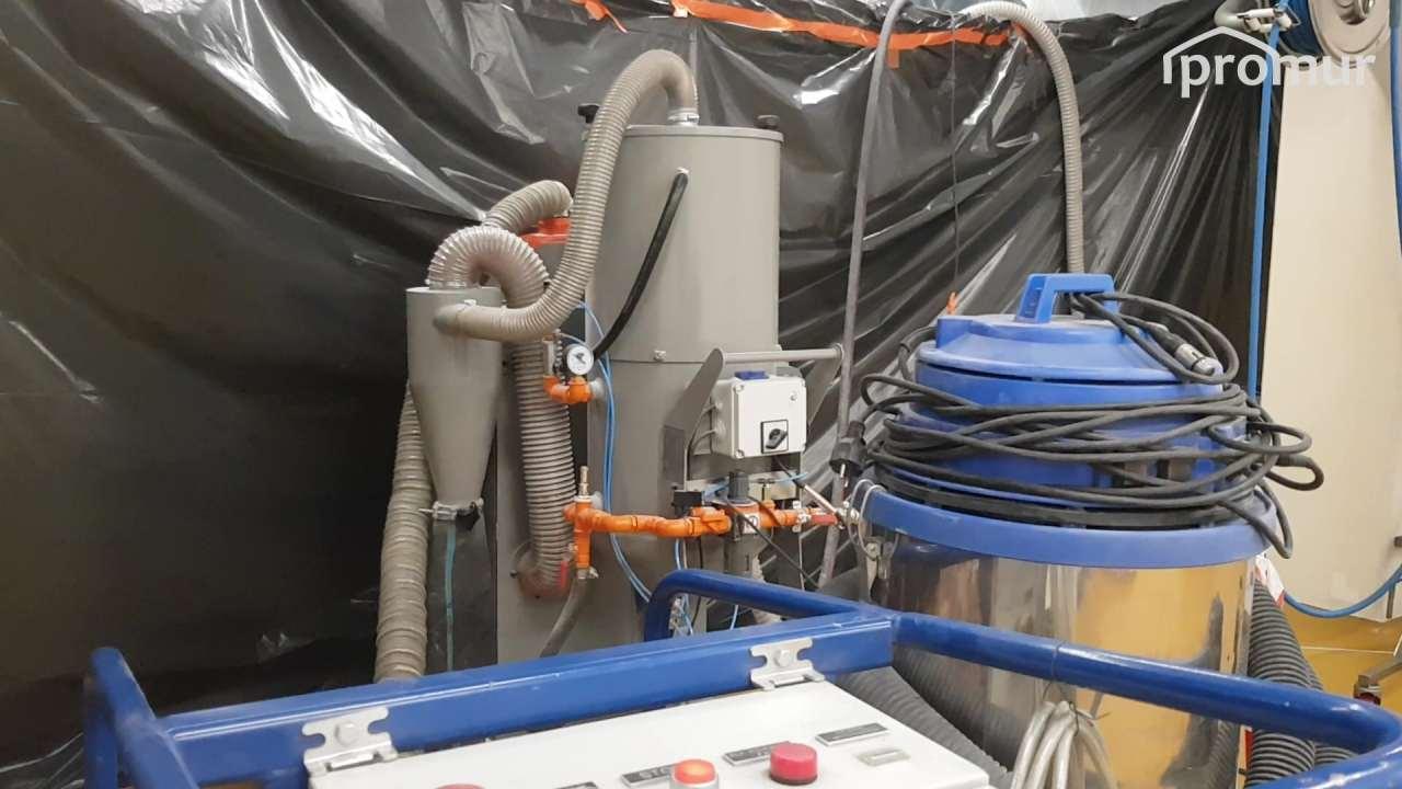 Sprzęt doczyszczenia bezpyłów iodpadów orazTornado ACS odSysteco